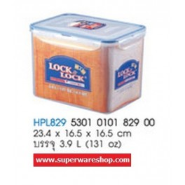 Lock&Lock กล่องถนอมอาหาร HPL829 (3.9 L / 131 oz) Lock&Lock