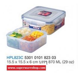 Lock&Lock กล่องถนอมอาหาร HPL823C (870 ML / 29 oz) Lock&Lock
